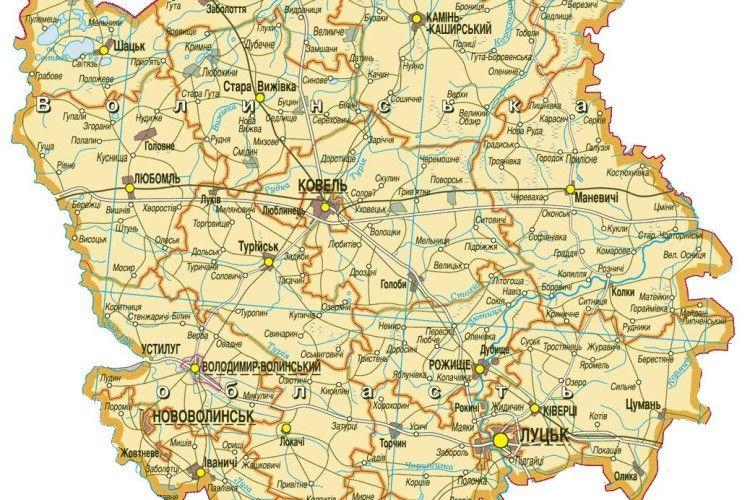 Волинь на третьому місці в Україні
