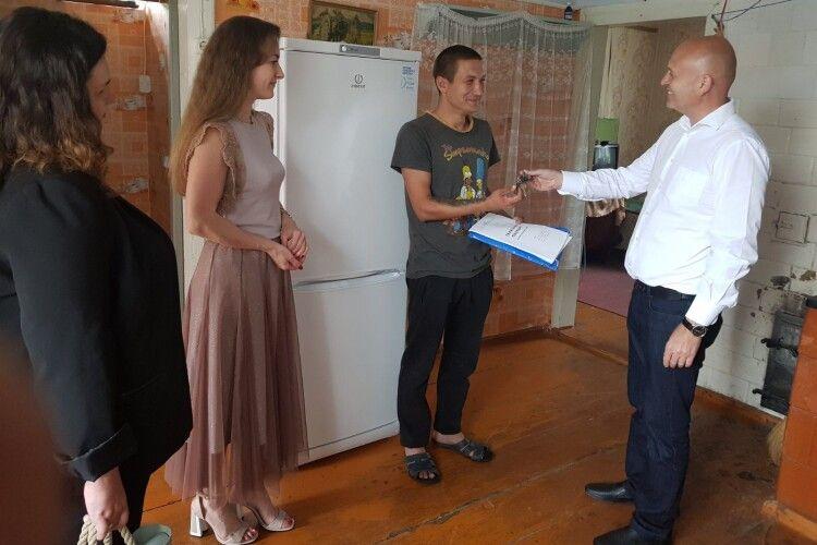 Сирота з Ківерцівщини отримав власне житло