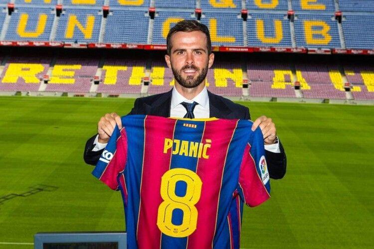 «Барселона» офіційно представила Міралема П'яніча
