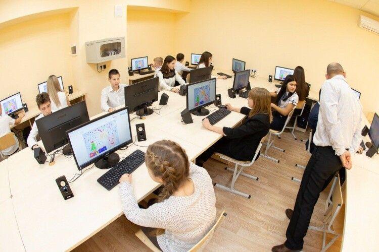 На комп'ютеризацію волинських шкіл спрямовано більше 24 мільйонів гривень