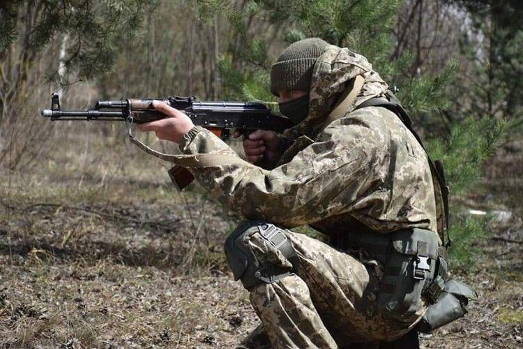 На Рівненському полігоні проводять бойові навчання