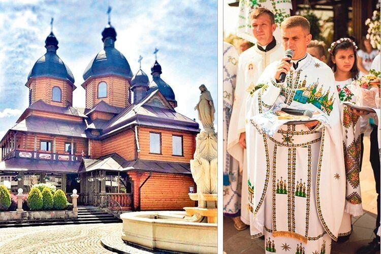 Священник 15років працював закордоном, щоб побудувати храм