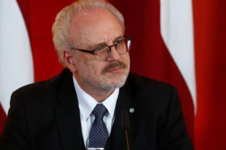Президент Латвії візьме участь в інавгураційному саміті Кримської платформи з деокупації півострова
