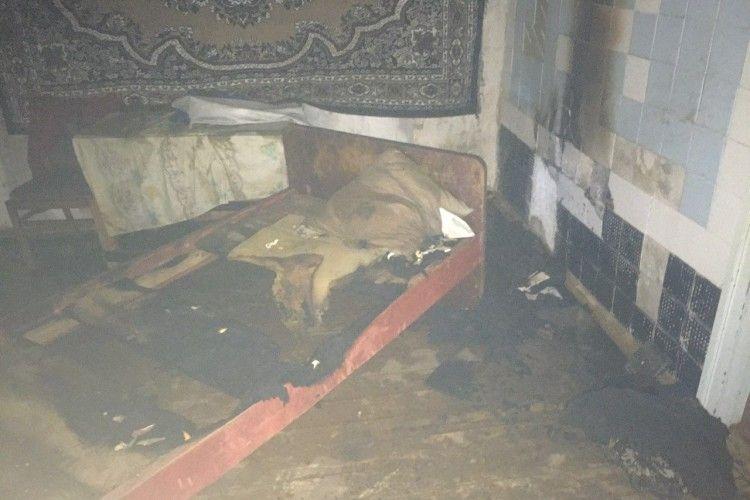 На Рівненщині під час пожежі у будинку загинула господиня (Фото)