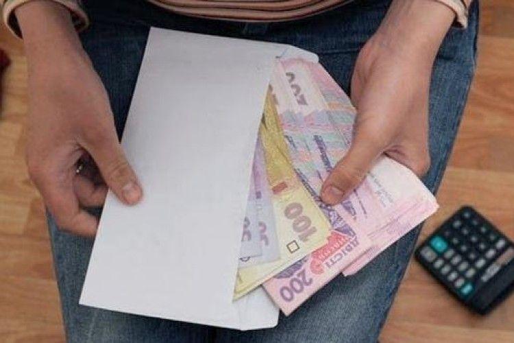 На Любешівщині роз'яснювали, чим може обернутися зарплата в конверті
