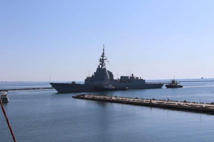 В Одесу зайшли кораблі НАТО (Відео)