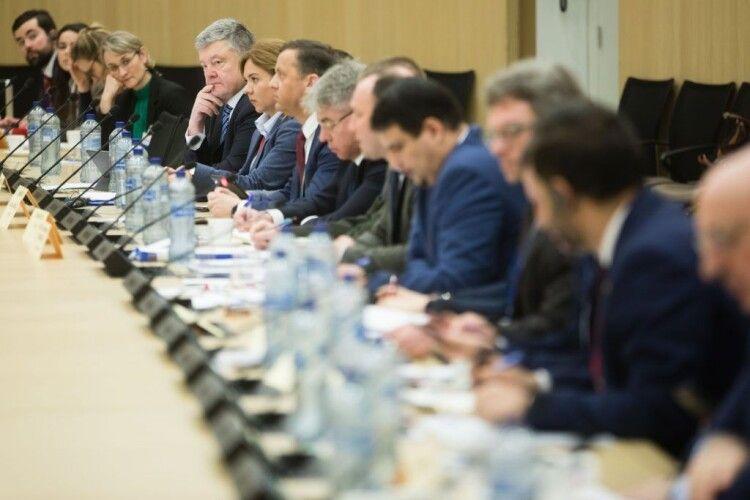 Порошенко на Раді «Україна-НАТО»: «Ні – детоксикації Росії!»