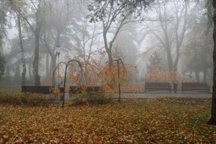 Погода на суботу, 14 листопада: вночі та вранці на Волині туманитиметься