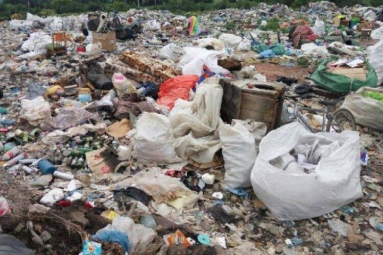 Луцькі депутати виділили 50 тисяч гривень на сміттєзвалище