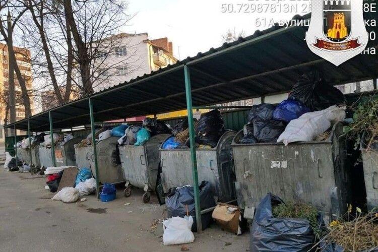 У Луцьку взялися за стихійні сміттєзвалища