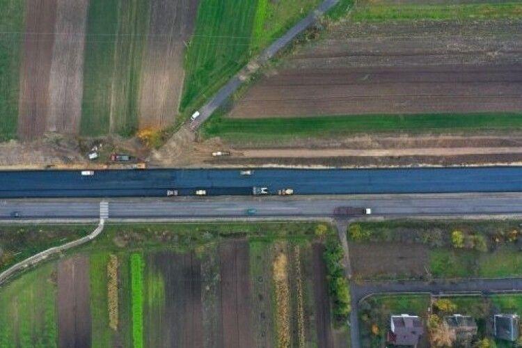Коли відкриють дорогу з Рівного на Луцьк (Фото)