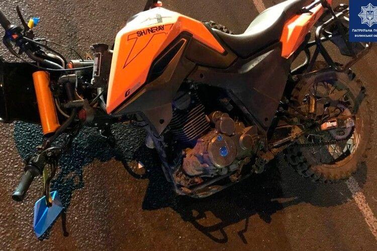 У Луцьку збили мотоцикліста