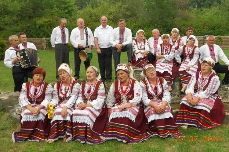 Спів «Опалинки» з волинської Гущі почули і в Польщі