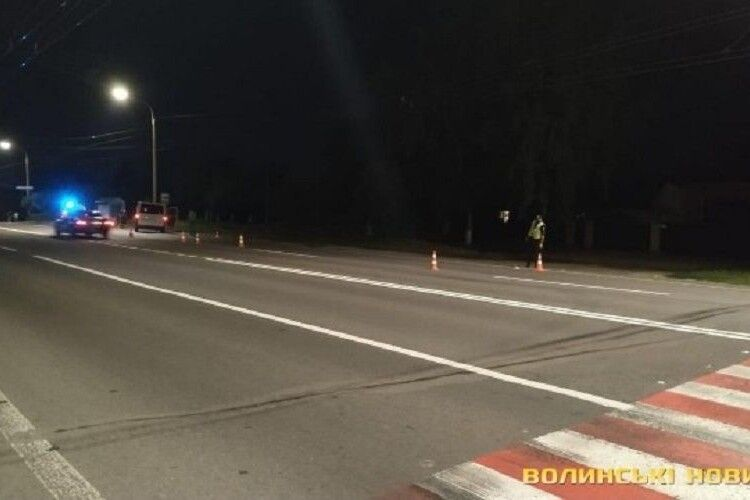 54-річний чоловік, якого на смерть збив бус при в'їзді в Луцьк, перебігав дорогу, – поліція