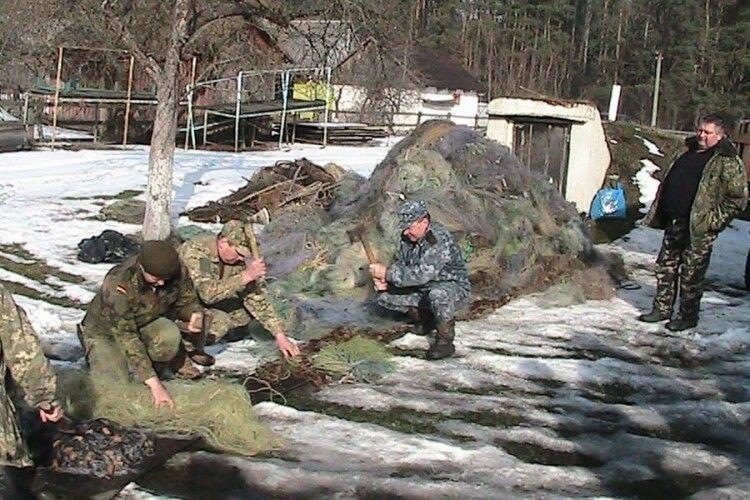 На Любешівщині пішли під сокиру 30 кілометрів сіток