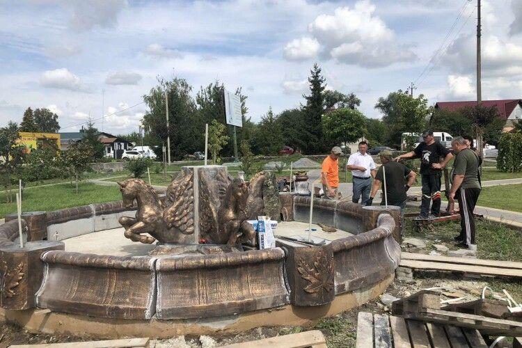 У Горохові буде фонтан, якому позаздрить і Луцьк