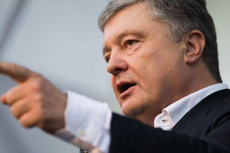На колінах повзають і просять зняти санкції – Порошенко жорстко висловився про Росію