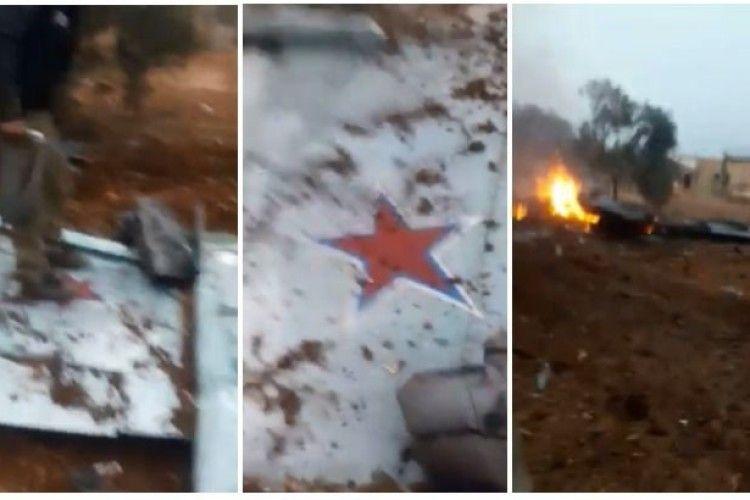Пілот збитого в Сирії російського штурмовика Су-25 загинув