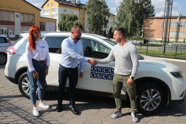 Навіщо на Волинь прибув представник ОБСЄ (Фото)