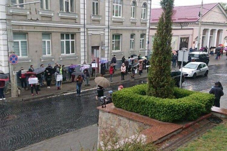 У Луцьку знову протестують підприємці