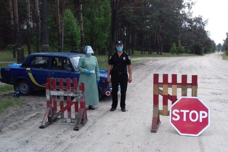 Як працюють карантинні пости на Камінь-Каширщині