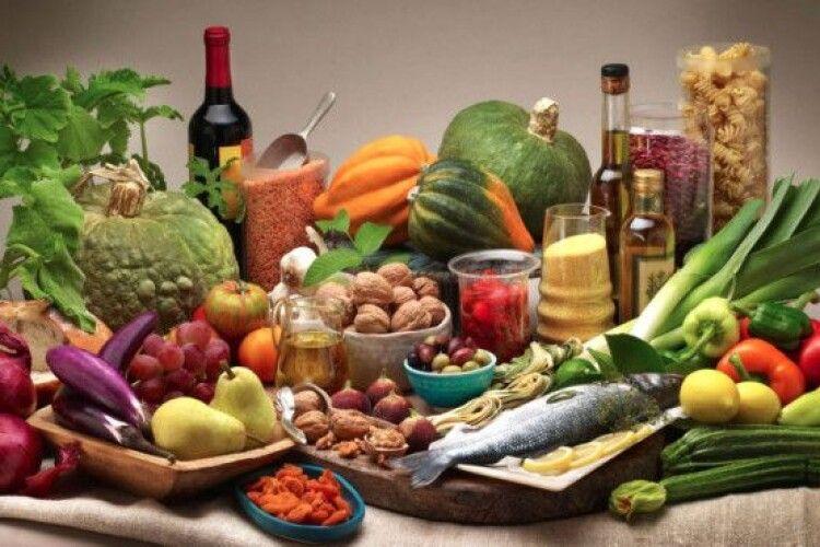 Волинь не увійшла до числа лідерів виробництва харчових продуктів