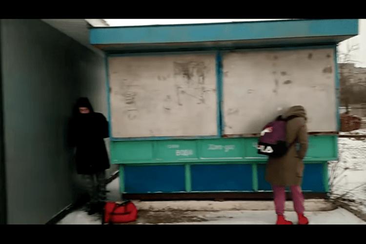 Мешканець Іванич запросив керівників Волинського підприємства автостанцій на «морозяну» зупинку (Відео)