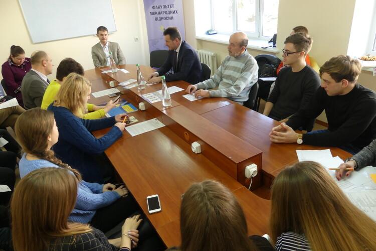 Волинський виш запустив проєкт «ЄС Еразмус+» (Фото)
