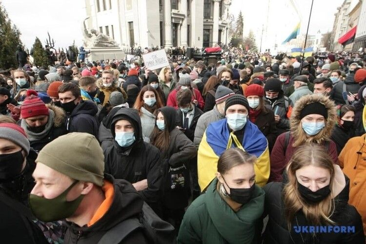 На підтримку Стерненка мітингували в Україні та за кордоном (Фото, відео)