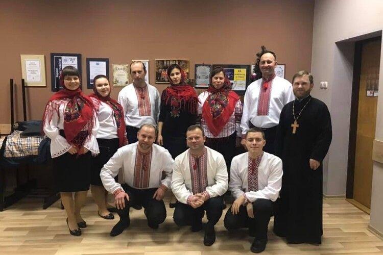 Заболотівчани колядували у Польщі