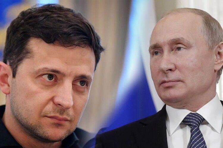Володимир Зеленський: «Путін сказав: якщо бійка неминуча – потрібно бити першим» (Відео)