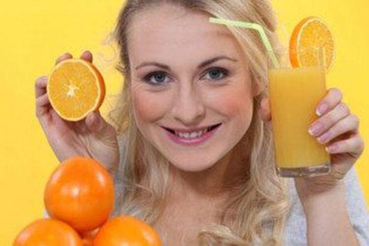 Сонячний фрукт узимовому меню