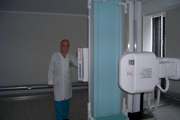 У Волинському обласному онкологічному диспансері — новий комплекс рентгендіагностики