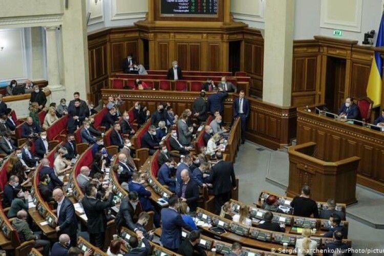 Депутатам Верховної Ради можуть дозволити працювати дистанційно