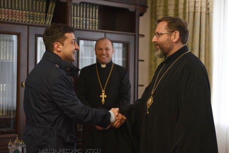 Глава Української греко-католицької церкви попросив Президента підтримати «Суспільне мовлення»