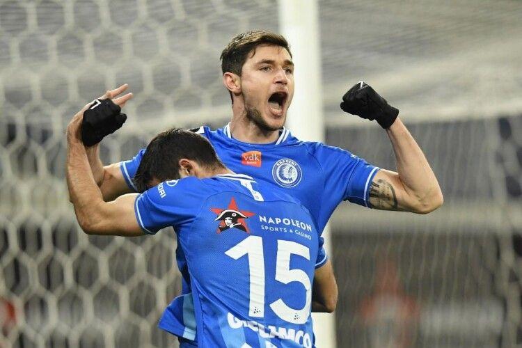 Роман Яремчук відзначився забитим м'ячем за «Гент» і був визнаний кращим гравцем матчу