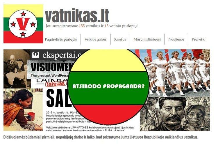 У Литві запустили сайт «Ватники» для відстеження російської пропаганди