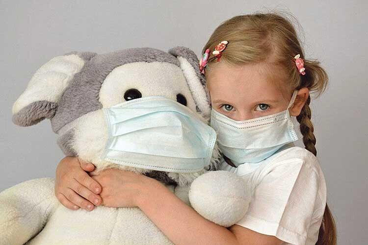Дітям до2років небезпечно носити маску