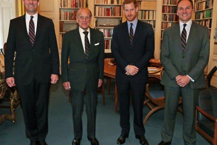 Принц Гаррі «посунув» свого 96-річного діда з посади генерал-капітана Королівської морської піхоти