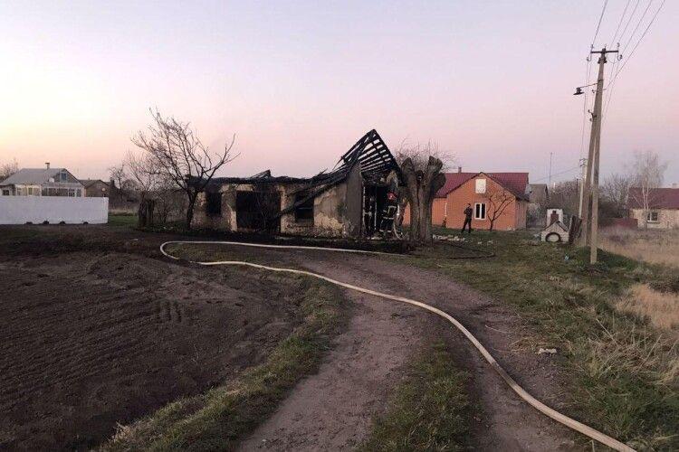 Учора на Рівненщині діти підпалили дві господарські споруди