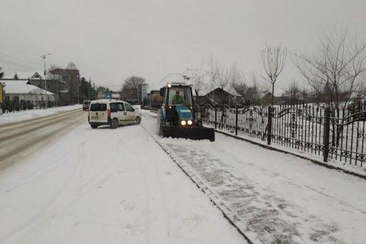 Ексмер волинського міста розкритикував нову владу за нерозчищені дороги