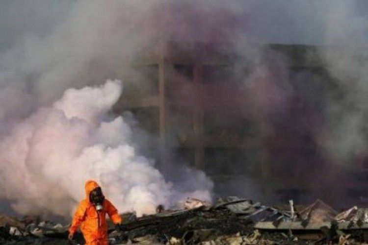 У Китаї стався вибух на хімзаводі