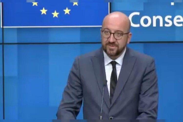 Голова Європейської ради: ЄС беззастережно підтримує суверенітет і територіальну цілісність України
