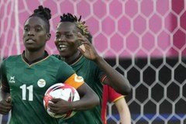 Футболістка Замбії встановила унікальний рекорд на Олімпіаді в Токіо