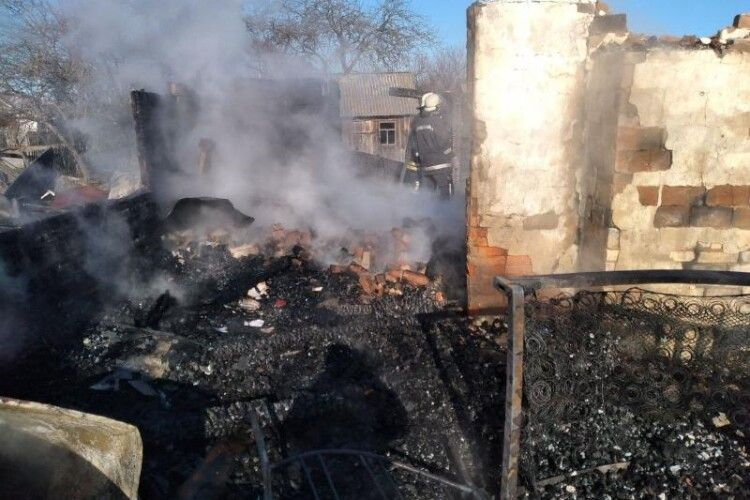 На Ковельщині у пожежі загинуло двоє людей