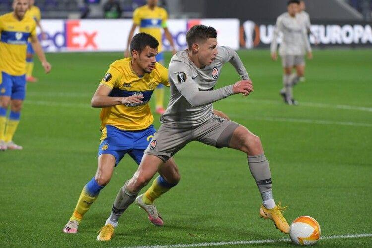 Захисника «Шахтаря» Миколу Матвієнка включили до символічної збірної Ліги Європи
