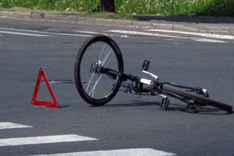 У Ковелі маршрутка збила велосипедиста: постраждалого шпиталізували