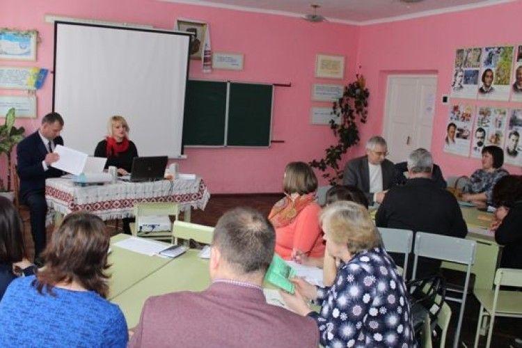 Учителі Колодяжненської ОТГ говорили про формування духовності