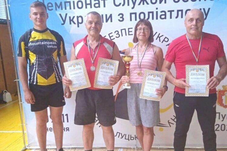 Волинські ветерани вибороли «срібло» на всеукраїнських змаганнях