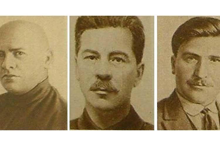 Чекісти розстріляли трьох високопоставлених більшовиків водин день